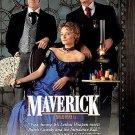 Maverick (DVD, 1997, Standard and letterbox) JODIE FOSTER,MEL GIBSON BRAND NEW