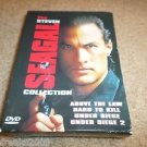 Steven Seagal Collection ABOVE LAW,HARD TO KILL (DVD, 1999, 4-Disc Set) BOX SET
