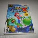 Super Mario Galaxy 2 (Nintendo Wii, 2010) COMPLETE