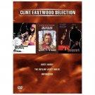 DIRTY HARRY,JOSEY WALES,UNFORGIVEN CLINT EASTWOOD COLL  (DVD, 2001, 3-Disc Set)