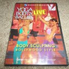 BEACHBODY YOGA BOOTY BALLET LIVE BODY SCULPTING BOLLYWOOD STYLE DVD (BRAND NEW)