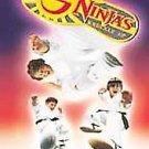 3 Ninjas Knuckle Up (DVD, 2001, Full Frame) VICTOR WONG
