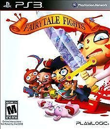 Fairytale Fights (Sony Playstation 3, 2009) PS3 COMPLETE
