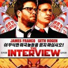 The Interview (DVD, 2015) DVD VERSION ONLY SETH ROGEN,JAMES FRANCO