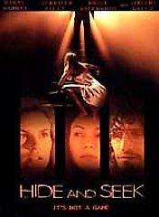 Hide and Seek (DVD, 2000) DARYL HANNAH,VINCENT GALLO