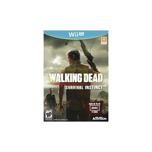Walking Dead: Survival Instinct (Nintendo Wii U, 2013) COMPLETE