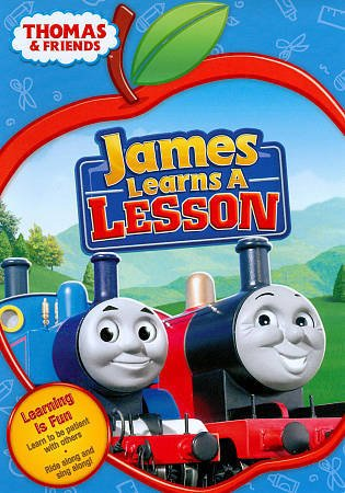 Thomas & Friends: JAMES LEARNS A LESSON (DVD, 2011)