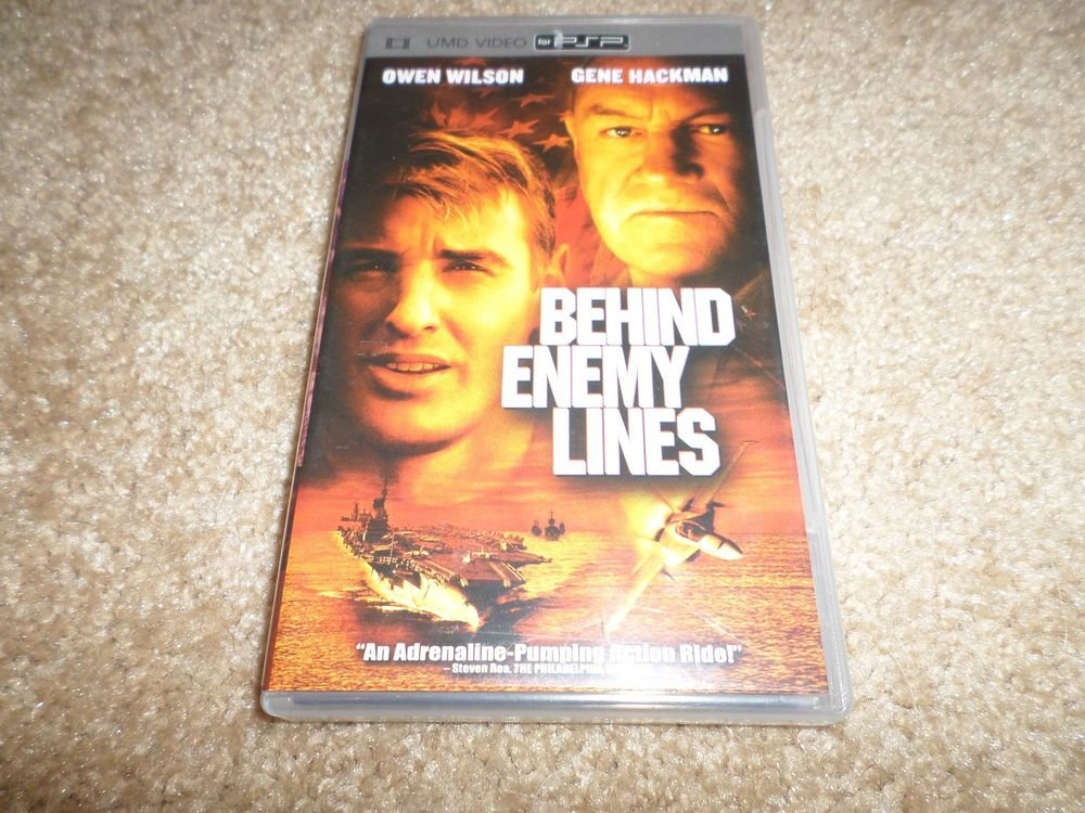 Behind Enemy Lines (UMD, 2006,Widescreen) PLAYSTATION PSP GENE HACKMAN