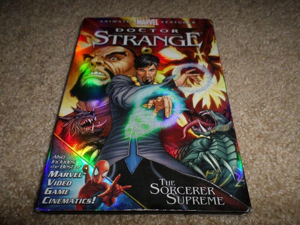 MARVEL ANIMATE FEATURES DOCTOR STRANGE THE SORCERER SUPREME DVD
