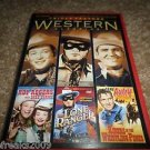 Westerns Classics Triple Feature ROY ROGERS,LONE RANGER,RIDERS WHISTLING DVD