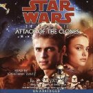 STAR WARS EPISODE II Attack of the Clones by R. A. Salvatore 2002, CD Unabridged