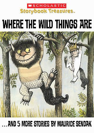 SCHOLASTIC Where the Wild Things Are by Maurice Sendak (DVD, 2008)