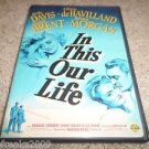In This Our Life (DVD) BETTE DAVIS,GEORGE BRENT