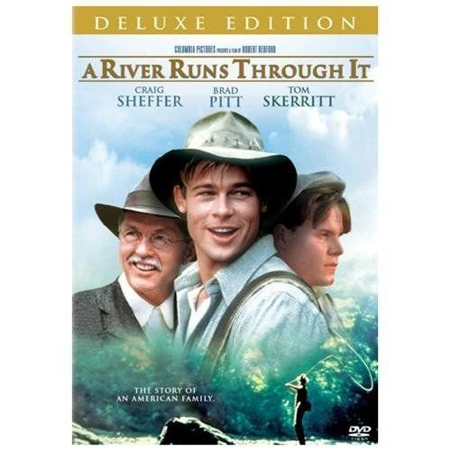 A River Runs Through It (DVD, 2005, Deluxe Edition) BRAD PITT