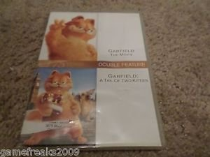 GARFIELD DOUBLE FEATURE THE MOVIE/A TAIL OF TWO KITTIES DVD
