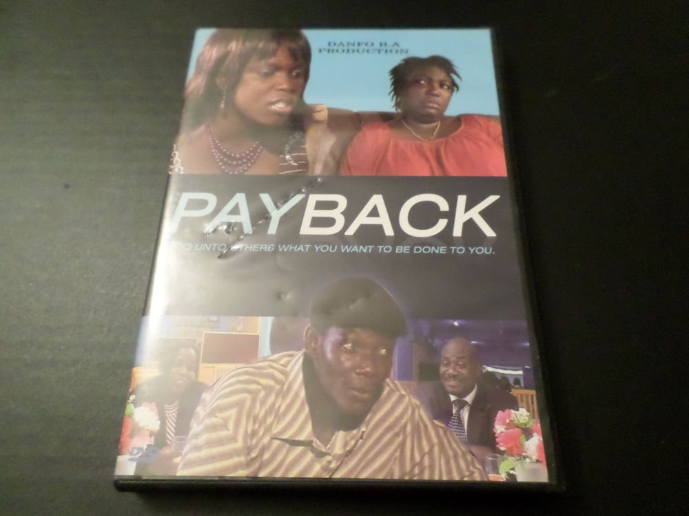 PAYBACK DO UNTO OTHERS WHAT YOU WANT TO BE DONE TO YOU DVD
