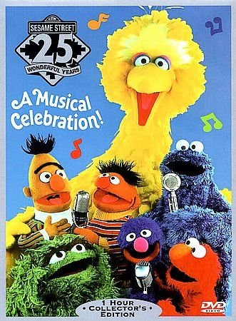 Sesame Street 25 YEARS A Musical Celebration (DVD, 1997)