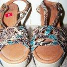 Lucky Brand Wedge Platform Sandals women size 9