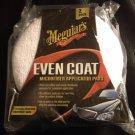 Meguiar's Even Coat; Microfiber Applicator Pads, 2-Pak