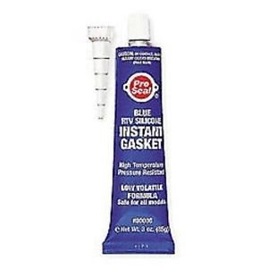 Pro Seal 3 oz. Blue RTV Silicone Instant Gasket 80006