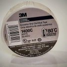 3/4 x 60ft White, Electrical, Tape, Insulation, Adhesive, Tape, 3M, 1400C