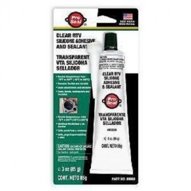PROSEAL Clear RTV Silicone Adhesive & Sealant 80066