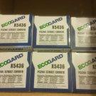 Six oil filters Ecogard x5436