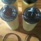 4 pack premium oil filters oem part number 68191349aa