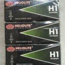 premium Heliolite Halogen Headlight Bulb H1 12V 55W ( 5 pcs )