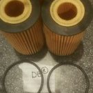 set of 4 oil filters ECOGARD x5839 chevy cruze 2011-2016 1.4l @18l engines