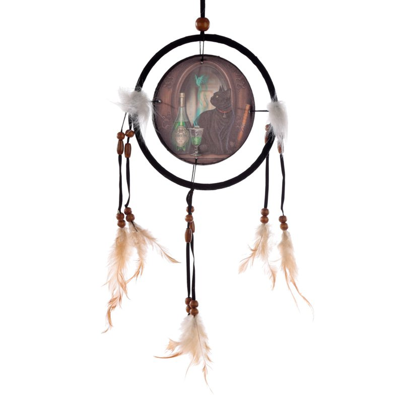 Lisa Parker Absinthe Cat Dreamcatcher Small