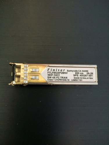 HP A7446B Finisar FTLF8524P2BNV 405287-001 5697-5431 4GB SFP GBIC Transceiver