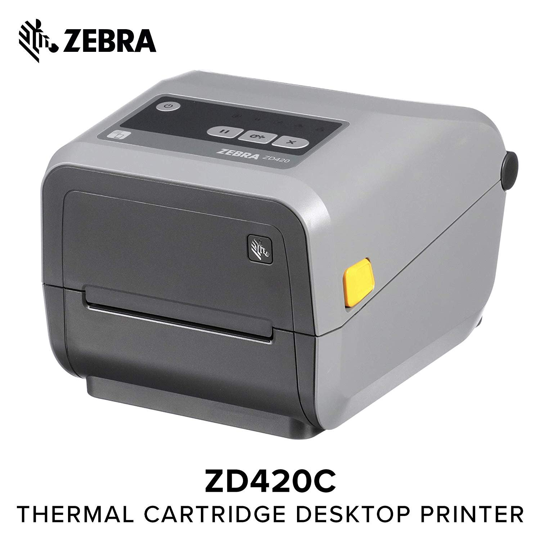 ZEBRA ZD42042-C01W01EZ PRINTER, 802.11AC & BLUETOOTH 4.1