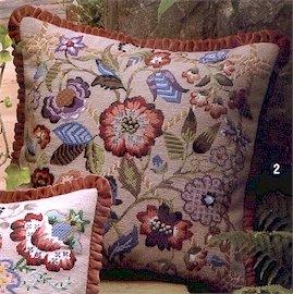 Southwold Cushion Needlepoint Kit by Glorafilia (gl5023)