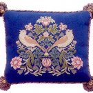 STRAWBERRY THIEF 4 Cushion Needlepoint CANVAS Beth Russell William Morris