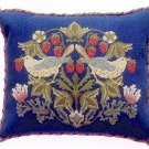 STRAWBERRY THIEF 2 Cushion Needlepoint KIT Beth Russell William Morris