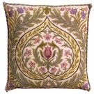 EDEN Pale background Cushion Needlepoint KIT Beth Russell William Morris