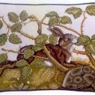 HARE & TORTOISE Cushion Needlepoint KIT Beth Russell