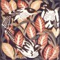 MAGPIES Cushion Needlepoint KIT Beth Russell William de Morgan