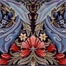 WILLIAM MORRIS Single PANEL Needlepoint KIT Beth Russell