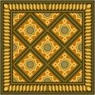 American Quilt Cushion Needlepoint Canvas (ar18-027c)