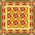 American Quilt Cushion Needlepoint Canvas (ar18-017c)