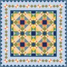 American Quilt Cushion Needlepoint Canvas (ar18-030c)