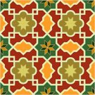 Arabesque Pattern Small Needlepoint Canvas Lena Lawson (ar18-007csm)