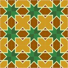 Star Quilt Pattern Needlepoint Canvas Lena Lawson (ar18-075c)