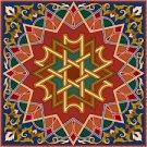 Arabesque Cushion Needlepoint Canvas Lena Lawson (ar19-066c)