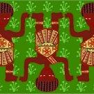 Children African Folk Art Needlepoint Canvas (af1-7)