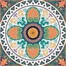 Arabesque Cushion Needlepoint Canvas Lena Lawson (ar9-ar-01c1)