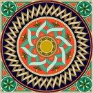 Arabesque Cushion Needlepoint Canvas Lena Lawson (ar9-ar-04c)