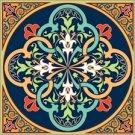 Arabesque Cushion Needlepoint Canvas Lena Lawson (ar9-ar-08c)